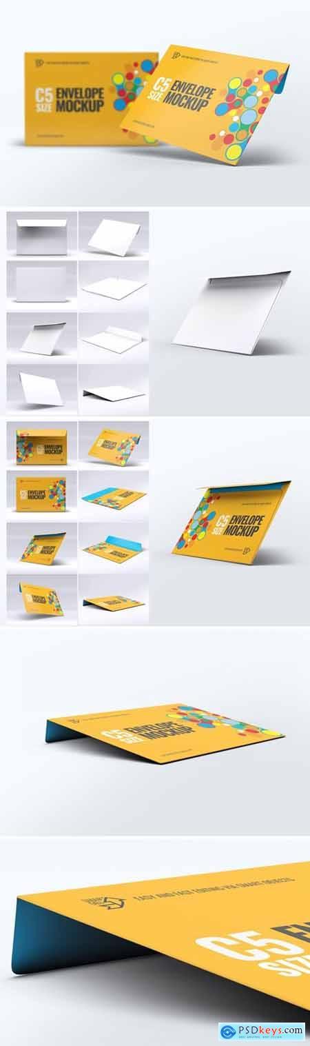Envelope C5 Mock-Up