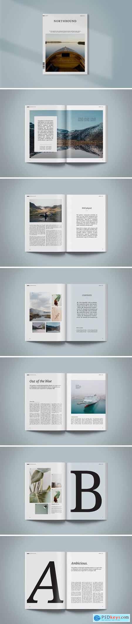 Magazine Template - Northbound