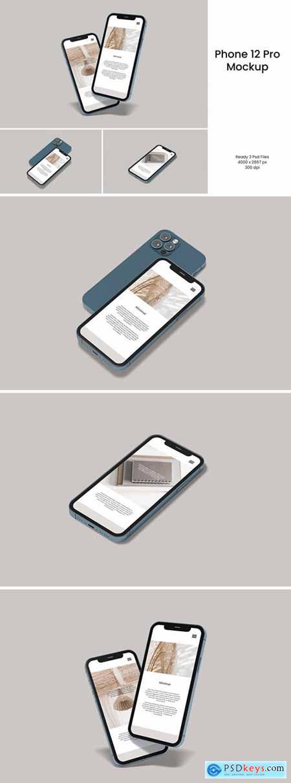Phone 12 Pro Mockup V.1