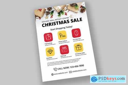 Fashion Christmas Sale Flyer