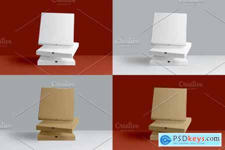 3 Pizza Box Mockup 5653554