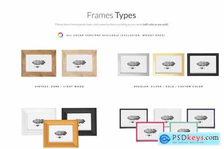 The Frames vol.2 Mock-ups Set 5580371