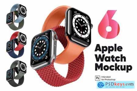 Apple Watch 6 Mockup