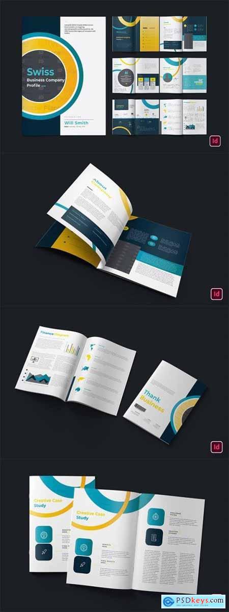 Company Report Brochure
