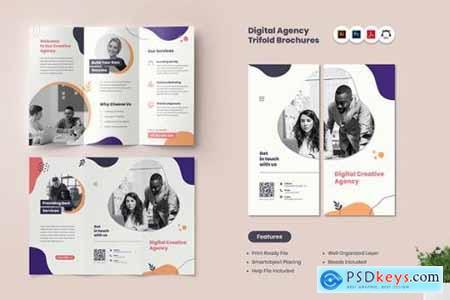 Digital Agency TriFold Brochure
