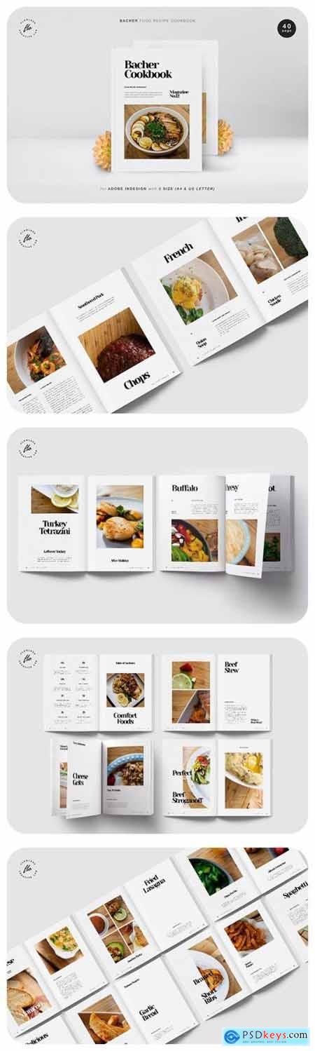 Bacher Food Recipe Cookbook