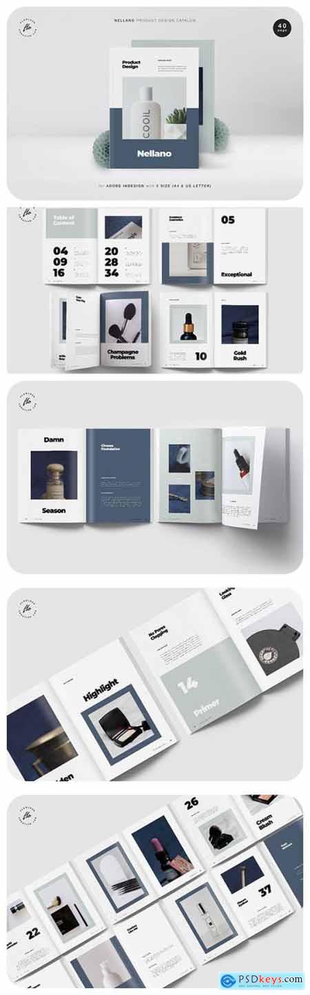 Nellano Product Design Catalog
