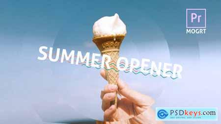 Summer Dynamic Opener MOGRT 29811680