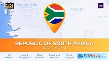 South Africa Map - Republic of South Africa Travel Map 29898312