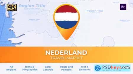 Netherlands Map Kit - Nederland Travel Map 29912612