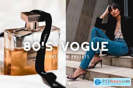 80S VOGUE LIGHTROOM PRESETS 5729397