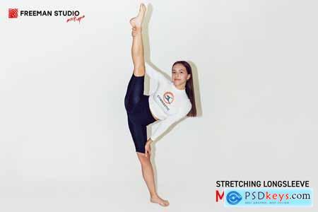 Stretching Longsleeve Mock-Up Set 5324074
