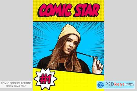 Comic Book Photoshop Actions 5440274