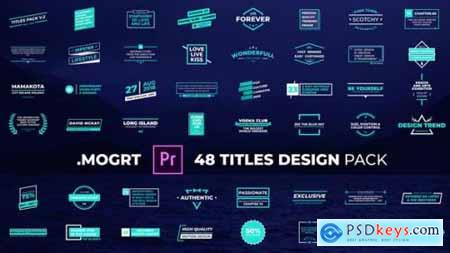 Titles Design Pack 29809059