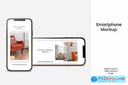 Smartphone Mockup V.2