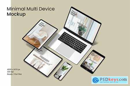 Minimal Multi Device Mockup