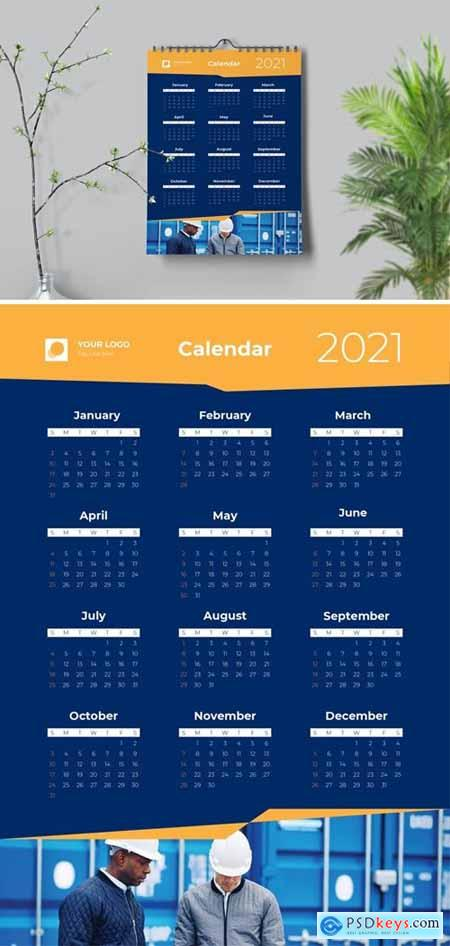 Dynamic Yellow Calendar