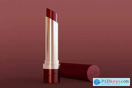 Red Lipstick Mockup
