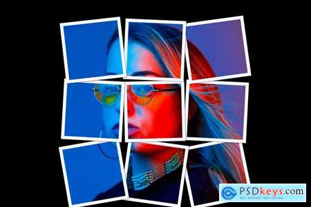 Collage Photo Effect PS Action 5540326