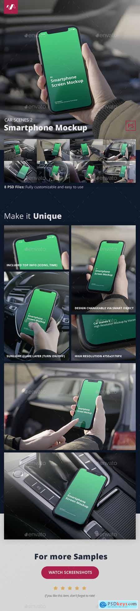 Phone Mockup Car Scenes 2 29884792