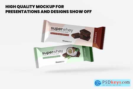 Snack - Protein Bar Mockup - 9 Views 5495104