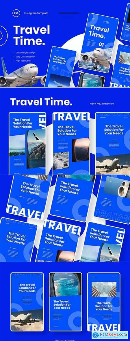 Travel Time - Instagram Stories Template