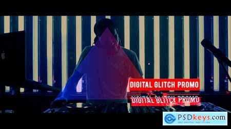 Digital Glitch Promo 8796276