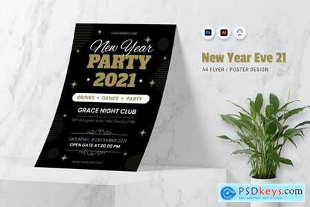 New Year 21EVE Flyer
