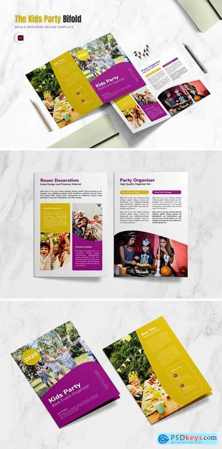 Kids Party Bifold Brochure