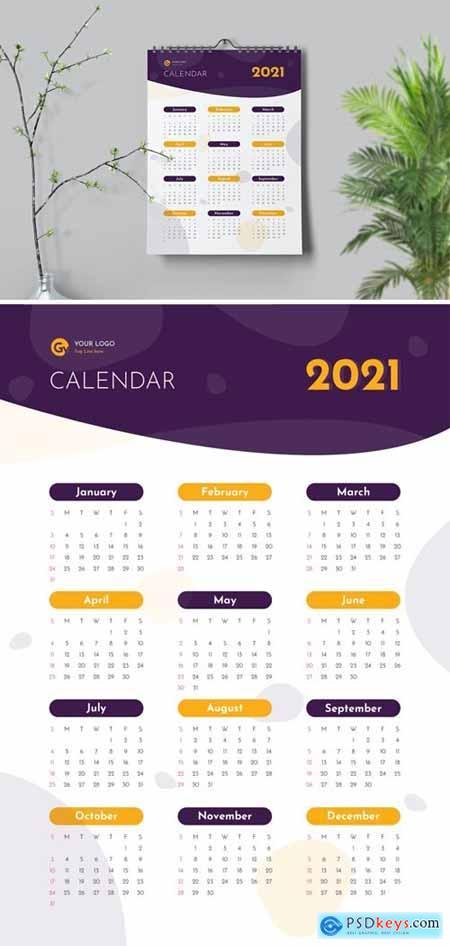 Blue Stone Calendar