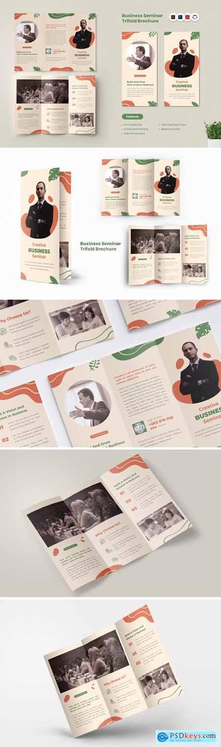 Seminar & Workshop Trifold Brochure