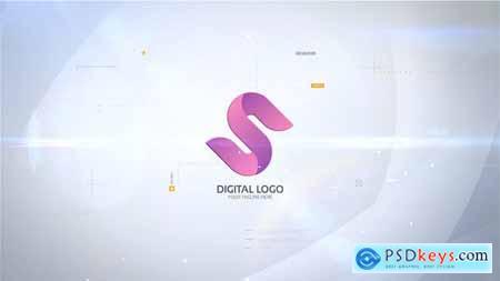 Digital Logo Reveal 29912928