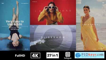 Minimal Promo Slideshows Pack V3.1 27059569