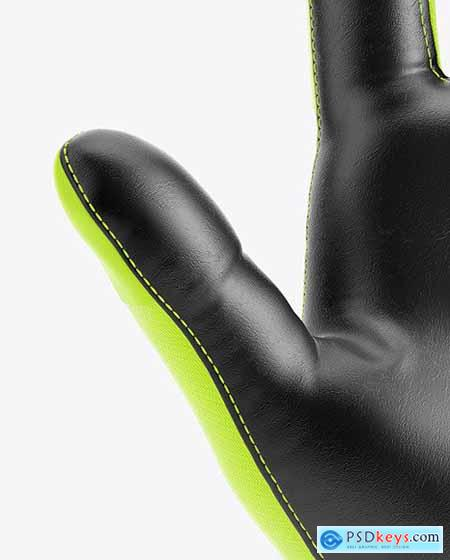 Football Glove Mockup - Front View 73144