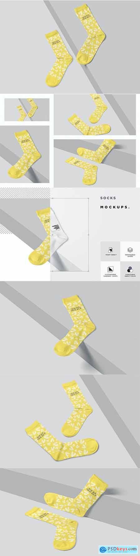 Socks Mockups