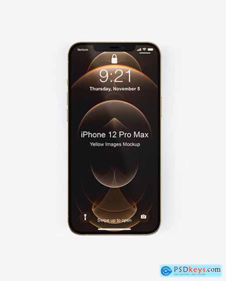 Apple iPhone 12 Pro Max Mockup 73095