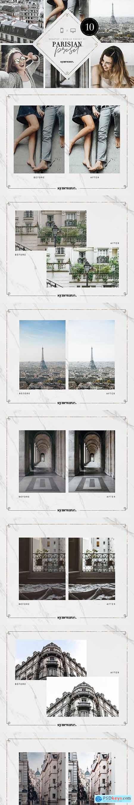 Parisian Lightroom Presets Bundle 5251294