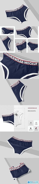Men Underwear Mockups