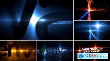 Light Streaks Logo Reveal 10748293