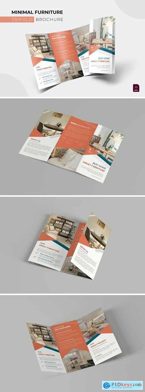 Minimal Furniture - Trifold Brochure