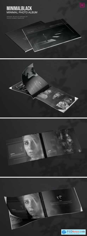 Minimal Black - Photo Album