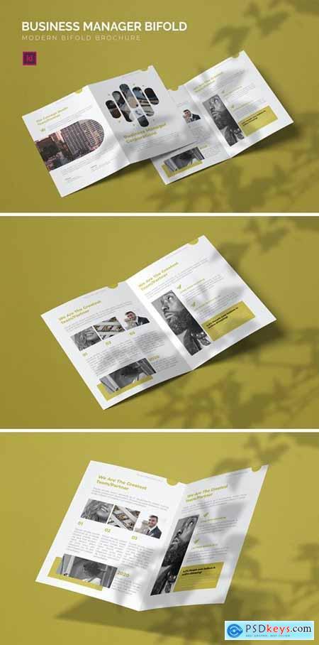 Bussines Manager - Bifold Brochure