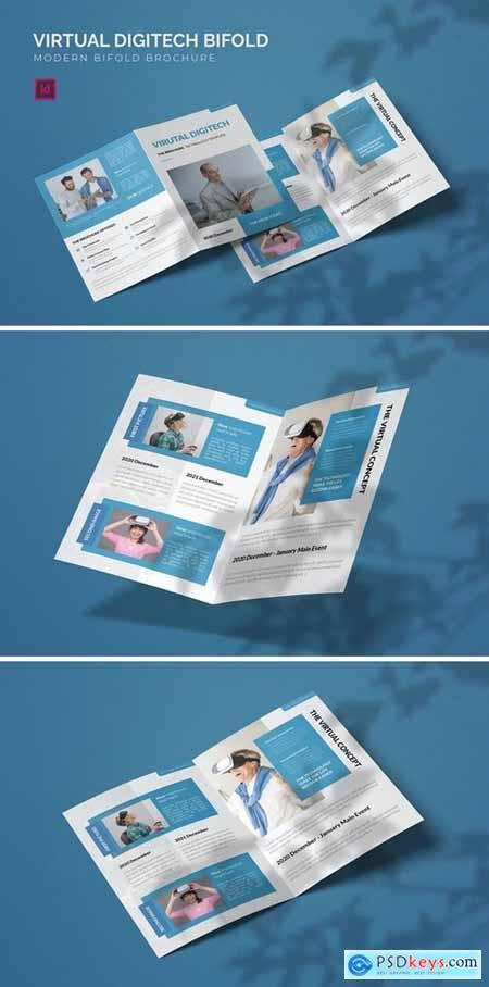 Virtual Digitech - Bifold Brochure