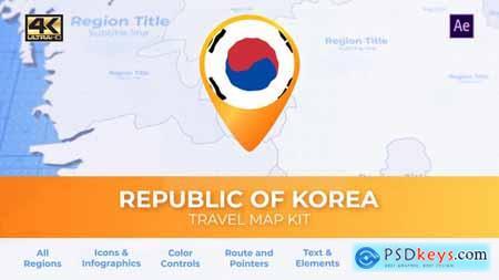 South Korea Map - Republic of Korea Travel Map 29939531