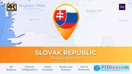 Slovakia Map - Slovak Republic Travel Map 29936154