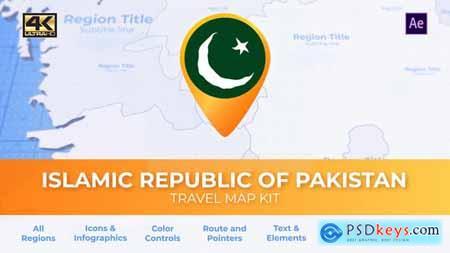 Pakistan Map - Islamic Republic of Pakistan Travel Map 29936093