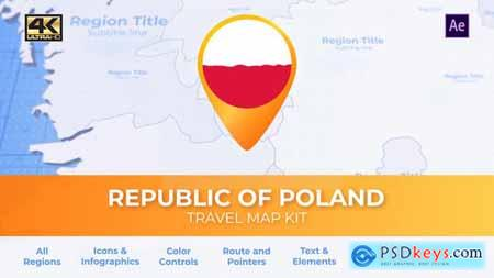 Poland Map - Republic of Poland Travel Map 29935955