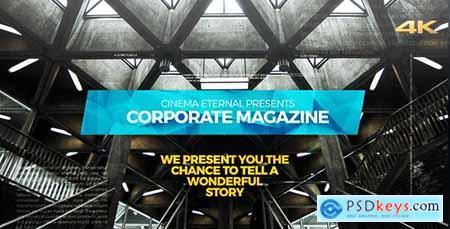 Cinematic Corporate Magazine 20998915
