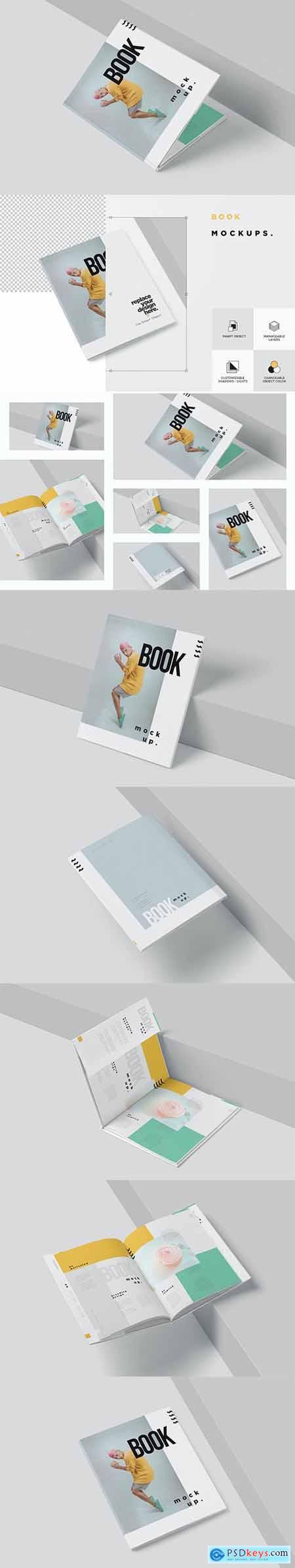 Hardback Book Mockups