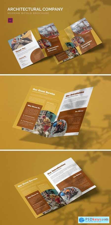 Architectural Company - Bifold Brochure